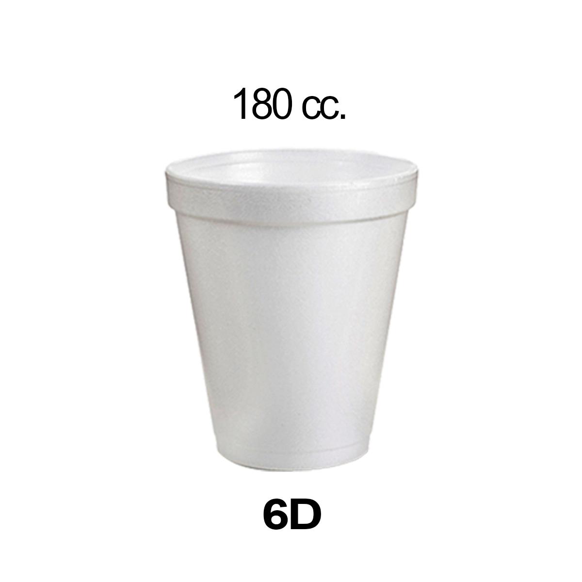 VASO ESPUMA 6D D690601N/DARNEL X20UNID.
